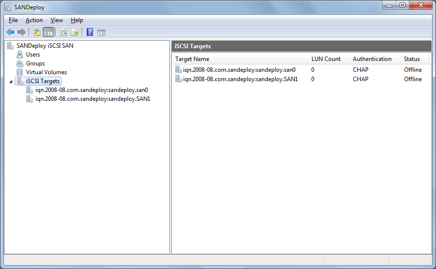 A powerful iSCSI target software for Microsoft Windows